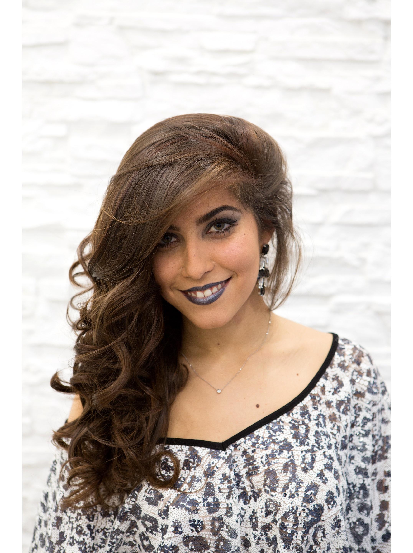 Federica Larinese concorrente Miss Degradé Joelle 2016