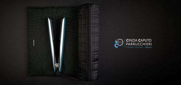 ghd New gold glacial – Gift box | Piastra per capelli con pochette
