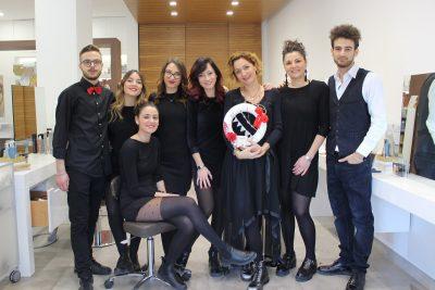 cinzia caputo parrucchieri foggia- staff 2019