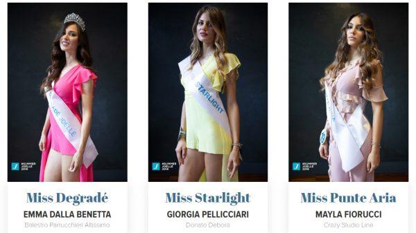 concorso miss degrade joelle - cinzia caputo parrucchieri foggia
