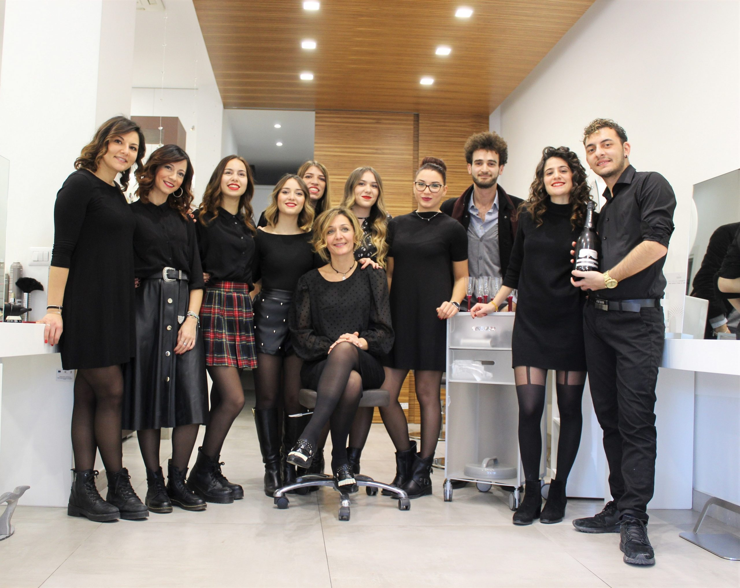 staff cinzia caputo parrucchieri 2020 gennaio